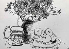 儿童画B班-2021年1月23日★寒假班★新起点画苑-学生作品
