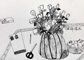 儿童画A班-2021年1月27日★寒假班★新起点画苑-学生作品