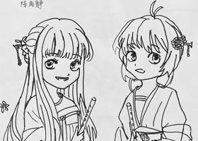 动漫A班-2021年1月27日★寒假班★新起点画苑-学生作品