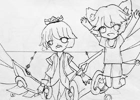 动漫B班-2021年1月27日★寒假班★新起点画苑-学生作品