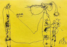 儿童画启蒙班-2021年3月4日◆春季班◆新起点画苑-学生作品