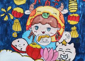 动漫精英B班-2021年3月6日◆春季班◆新起点画苑-学生作品