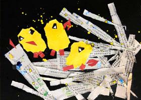 鸟窝-儿童画启蒙班-2021年4月14日◆春季班◆新起点画苑-学生作