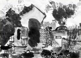 老院墙-国画基础班-2021年5月5日◆春季班◆新起点画苑-学生作