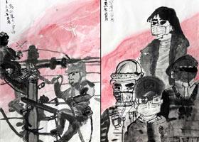无名英雄-国画大师班-2021年5月4日◆春季班◆新起点画苑-学生