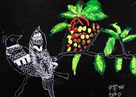 鸟儿-儿童画创想A班-2021年4月30日◆春季班◆新起点画苑-学生