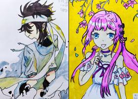 动漫精英B班-2021年5月5日◆春季班◆新起点画苑-学生作品