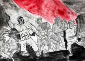 革命先烈-国画大师班-2021年5月29日◆春季班◆新起点画苑-学生