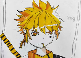 动漫精英A班-2021年6月4日◆春季班◆新起点画苑-学生作品