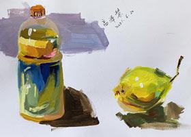 色彩C班-2021年6月19日◆春季班◆新起点画苑-学生作品