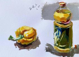 色彩D班-2021年6月20日◆春季班◆新起点画苑-学生作品