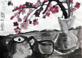 茶具-国画基础班-2021年7月4日◆春季班◆新起点画苑-学生作品