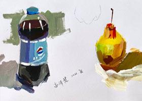 色彩B班-2021年7月8日◆春季班◆新起点画苑-学生作品