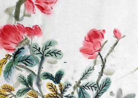月季花-国画班-2021年7月22日★暑假班★新起点画苑-学生作品