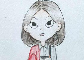 动漫A班-2021年7月27日★暑假考级培训★新起点画苑-学生作品