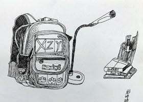 儿童画A班-2021年7月31日★暑假考级培训★新起点画苑-学生作品