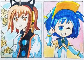 动漫精英A班-2021年9月3日◆秋季班◆新起点画苑-学生作品