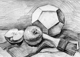 素描B班-2021年9月4日◆秋季班◆新起点画苑-学生作品