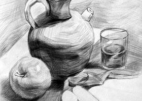 素描A班-2021年9月11日◆秋季班◆新起点画苑-学生作品