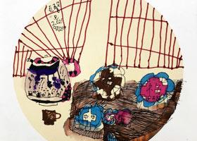 中秋-儿童画基础班-2021年9月20日◆秋季班◆新起点画苑-学生作