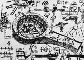 月饼制作神器-儿童画大师A班-2021年9月18日◆秋季班◆新起点画