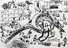 月饼制作神器-儿童画大师B班-2021年9月19日◆秋季班◆新起点画