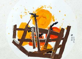 柿子-儿童画启蒙班-2021年9月23日◆秋季班◆新起点画苑-学生作