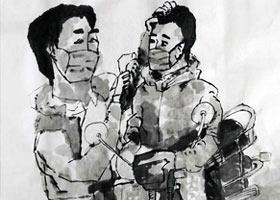 水墨人物-国画大师班-2021年9月25日◆秋季班◆新起点画苑-学生