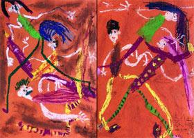 霹雳舞-儿童画启智班-2021年9月24日◆秋季班◆新起点画苑-学生