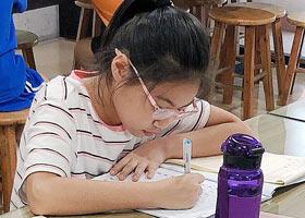 硬笔书法B班-2021年9月25日◆秋季班◆新起点画苑-学生作品