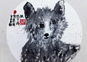 狐狸-国画培优班-2021年10月17日◆秋季班◆新起点画苑-学生作