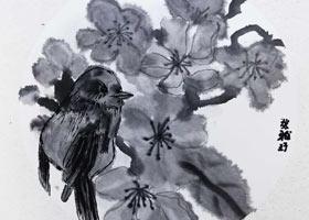 花鸟-国画大师班-2021年10月16日◆秋季班◆新起点画苑-学生作