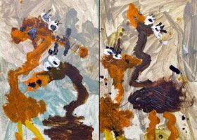 鸵鸟-儿童画启蒙班-2021年10月14日◆秋季班◆新起点画苑-学生