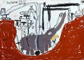 拯救大象-儿童画基础班-2021年10月16日◆秋季班◆新起点画苑-