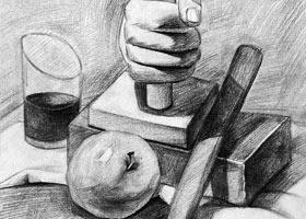 素描A班-2021年10月16日◆秋季班◆新起点画苑-学生作品