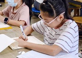 硬笔书法B班-2021年10月16日◆秋季班◆新起点画苑-学生作品
