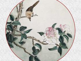 工笔画-茶花图(瞿碧萱)2018年5月3日日-5月24日【春季班】学生作品-新起点画苑