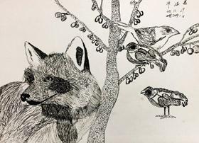 主题绘画班-2019年1月4日【秋季班】学生作品-新起点画苑