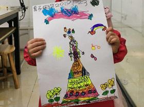 妈妈的新裙子-儿童画班-2019年1月23日 ◆寒假班◆ 新起点画苑【新围店】学生作品