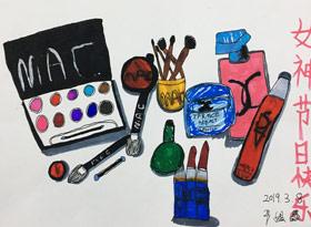 主题绘画班-2019年3月8日【春季班/高峰店】新起点画苑-学生作品