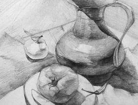 素描提升班-2019年3月8日【春季班/高峰店】新起点画苑-学生作品