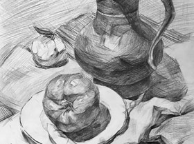 素描提升班-2019年3月15日【春季班/高峰店】新起点画苑-学生作品