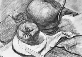 素描B班-2019年3月16日【春季班/高峰店】新起点画苑-学生作品