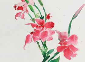主题绘画班-2019年3月29日【春季班/高峰店】新起点画苑-学生作品