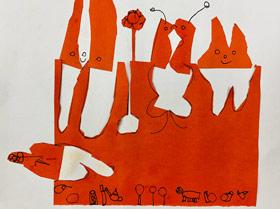 剪贴创意-儿童画基础班-2019年3月30日 ★春季班/新围店★ 新起点画苑-学生作品