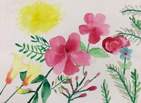 主题绘画班-2019年4月12日【春季班/高峰店】新起点画苑-学生作品