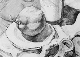 素描提升班-2019年4月26日【春季班/高峰店】新起点画苑-学生作品