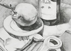 素描A班-2019年4月27日【春季班/高峰店】新起点画苑-学生作品