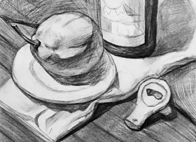 素描B班-2019年4月27日【春季班/高峰店】新起点画苑-学生作品