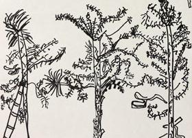 龙华公园写生-儿童画基础班-2019年5月11日【春季班/高峰店】新起点画苑-学生作品